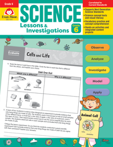 Science Lessons and Investigations, Grade 6 - Teacher's Edition, E-book