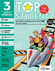 Top Student, Grade 3 - Activity Book