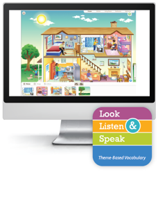 Look, Listen, & Speak: At Home - Interactive Lessons