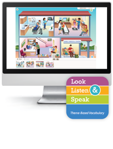 Look, Listen, & Speak: My Family and Me - Interactive Lessons