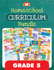 Homeschool Curriculum Bundle, Grade 5
