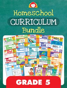 Homeschool Curriculum Bundle, Grade 5