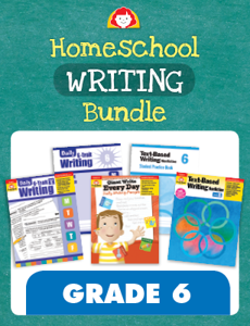 Homeschool Writing Bundle, Grade 6