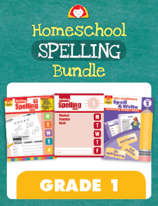 Homeschool Spelling Bundle, Grade 1