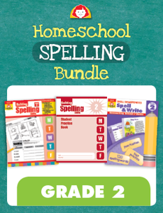 Homeschool Spelling Bundle, Grade 2