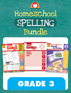 Homeschool Spelling Bundle, Grade 3