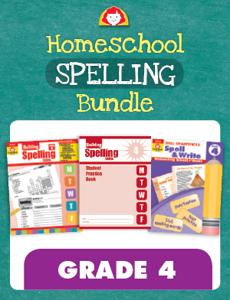 Homeschool Spelling Bundle, Grade 4