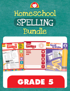 Homeschool Spelling Bundle, Grade 5