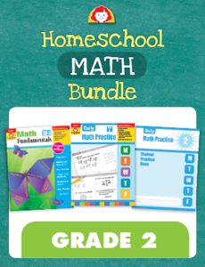 Homeschool Math Bundle, Grade 2