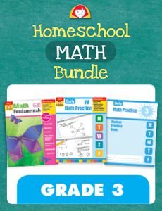 Homeschool Math Bundle, Grade 3