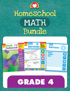 Homeschool Math Bundle, Grade 4