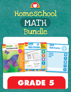 Homeschool Math Bundle, Grade 5