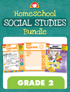 Homeschool Social Studies Bundle, Grade 2