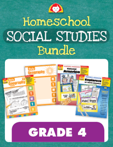 Homeschool Social Studies Bundle, Grade 4