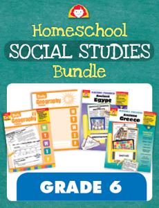 Homeschool Social Studies Bundle, Grade 6