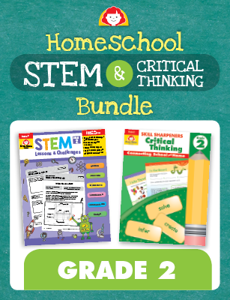 Homeschool STEM and Critical Thinking Bundle, Grade 2