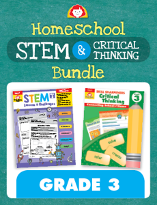 Homeschool STEM and Critical Thinking Bundle, Grade 3