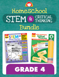 Homeschool STEM and Critical Thinking Bundle, Grade 4