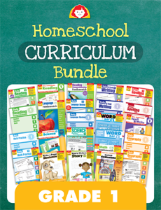 Homeschool Curriculum Bundle, Grade 1