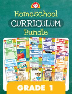 Homeschool Curriculum Bundle, Grade 1