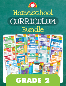 Homeschool Curriculum Bundle, Grade 2
