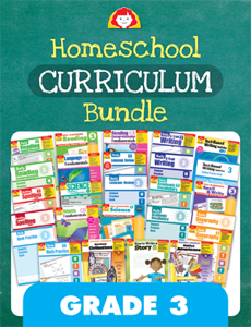 Homeschool Curriculum Bundle, Grade 3