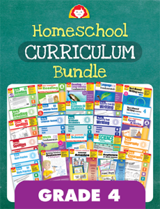 Homeschool Curriculum Bundle, Grade 4