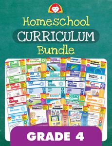 Homeschool Curriculum Bundle, Grade 4