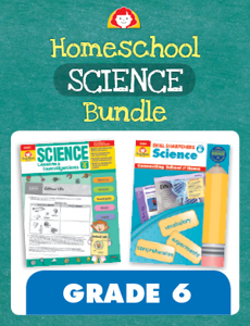 Homeschool Science Bundle, Grade 6