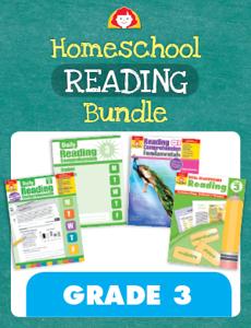 Homeschool Reading Bundle, Grade 3