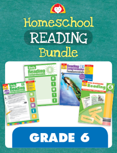 Homeschool Reading Bundle, Grade 6