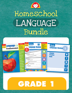 Homeschool Language Bundle, Grade 1