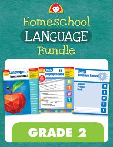 Homeschool Language Bundle, Grade 2
