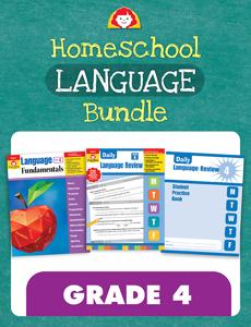 Homeschool Language Bundle, Grade 4