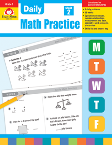 Daily Math Practice, Grade 2 - Teacher's Edition, Print