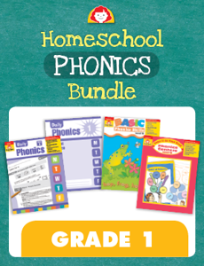 Homeschool Phonics Bundle, Grade 1