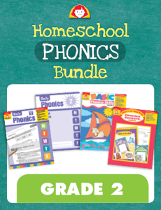 Homeschool Phonics Bundle, Grade 2