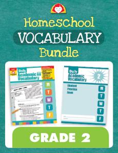 Homeschool Vocabulary Bundle, Grade 2