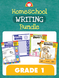 Homeschool Writing Bundle, Grade 1