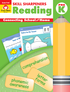 Picture of Skill Sharpeners: Reading, Grade PreK - Activity Book