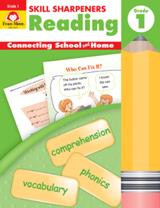 Picture of Skill Sharpeners: Reading, Grade 1 - Activity Book