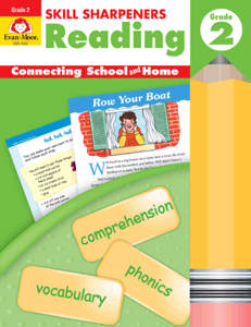 Picture of Skill Sharpeners: Reading, Grade 2 - Activity Book