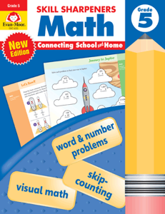 Skill Sharpeners: Math, Grade 5 - Activity Book