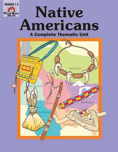Complete Thematic Units, Native Americans - Teacher Reproducibles,  E-book