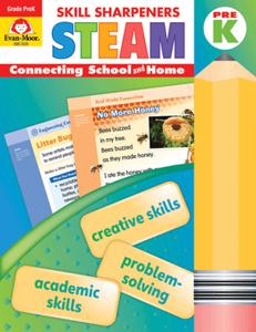 Skill Sharpeners: STEAM, Grade PreK - Activity Book