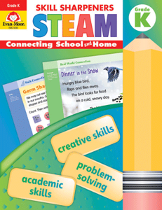 Skill Sharpeners: STEAM, Grade K - Activity Book