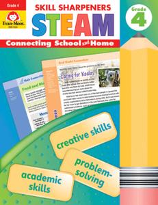 Skill Sharpeners: STEAM, Grade 4