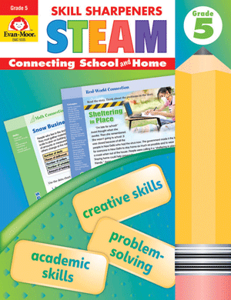 Skill Sharpeners: STEAM, Grade 5 - Activity Book