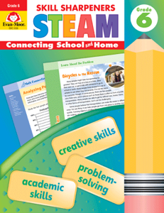 Skill Sharpeners: STEAM, Grade 6 - Activity Book