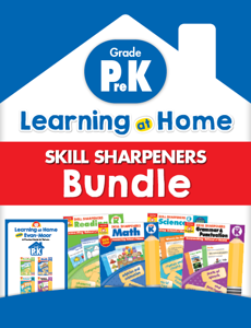 Learning At Home Skill Sharpeners Bundle, Grade PreK